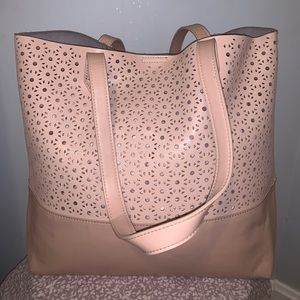 GIANI BERNINI TOTE - baby pink in great condition!